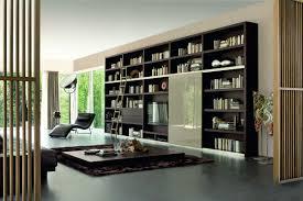 modern bookshelf design bedroom furniture interior living room modern custom dark brown oak wall mount built furniture living room