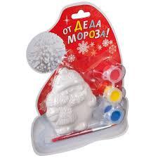 <b>Ёлочные украшения Дед Мороз</b> - набор для творчества Bondibon