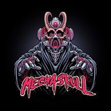 Premium Vector   Illustration of <b>mechanical skull</b>