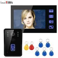 <b>SmartYIBA</b> 7 RFID Video Door Phone Intercom Doorbell Touch ...