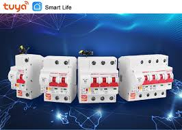 Smart Life(tuya) app <b>2p</b> WiFi Smart Circuit Breaker overload short ...