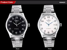 <b>WINNER</b> famous brand <b>men business</b> automatic self wind <b>watches</b> ...