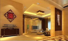 chinese style decor: classy yellow chinese wall living room full look simple chinese living room