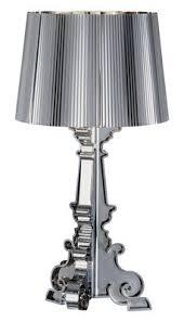 chrome bourgie table lamp by ferruccio laviani for kartell sdm bourgie ferruccio laviani