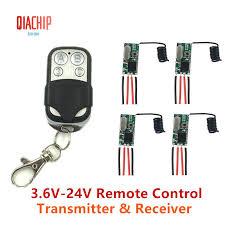 QIACHIP3Pcs <b>433Mhz Wireless</b> Remote Control Switch 4CH <b>RF</b> ...