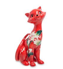 <b>Фигурка декоративная</b> Pavone <b>Кошка</b> JP-11/41, 104342