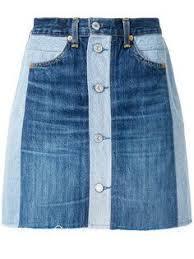 <b>Re</b>/<b>Done джинсовая</b> юбка на пуговицах | Перешитая одежда ...