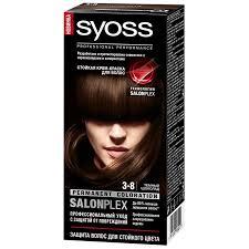 <b>Краска для волос Syoss Color</b> 3-8 темный шоколад | Магнит ...