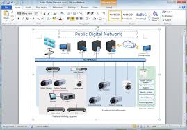 create network diagrams for wordcreate network diagram for word