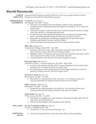 common resume objectives template objective examples restaurant manager common resume objectives