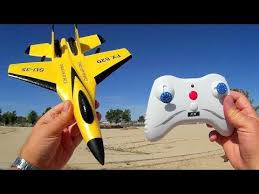 Flybear FX 820 <b>SU 35</b> 2 Channel RC Airplane Flight Test Review ...