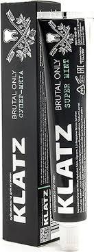 <b>Зубная паста</b> для мужчин <b>Klatz</b> Brutal Only Супер-мята, 75 мл ...