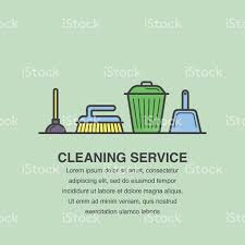 banner design for cleaning service advertisement stock vector art banner design for cleaning service advertisement royalty stock vector art