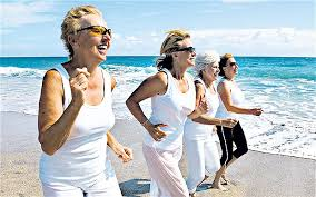 Image result for old woman running