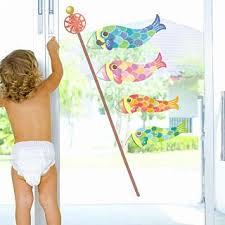 「こいのぼり 窓 シール 」の画像検索結果