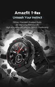 <b>Amazfit T</b>-Rex | Unleash Your Instinct