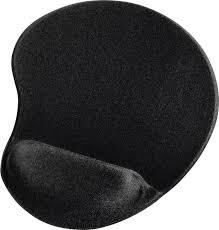 <b>Коврик</b> для мыши <b>HAMA Ergonomic</b>, черный [<b>00054779</b>]