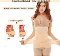<b>3in1 Waist Shapewear Breathable</b> Belly Postpartum Abdominal Belt ...