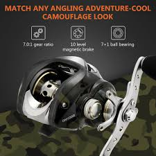 Z Zanmax Baitcasting <b>Fishing</b> Reel, Stainless Steel Bearings, Super ...