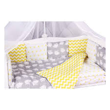 <b>Комплект в кроватку AmaroBaby</b> СОВЯТА 15 предметов, желтый ...