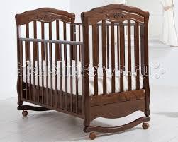 Детская <b>кроватка Гандылян Шарлотта</b> качалка - Акушерство.Ru