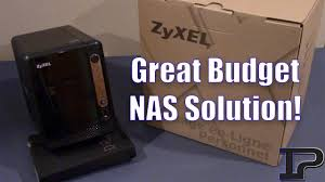 Fantastic Low Budget NAS Solution! (<b>ZyXEL</b> 2 Bay NAS Review ...