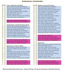 residential house cleaning checklist timesheets 65 point initial maintenance cleaning checklist via maid 4 service i