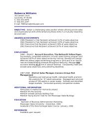 resume objective sales for objective with achievements and     Dawtek Resume and Esay