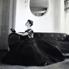 <b>Jean Desses</b> - Robe du soir (circa 1940)   Robe, 1940s, Evening ...