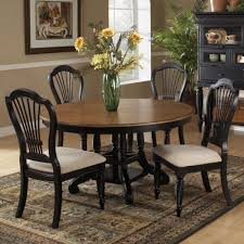 Dining Room Table And 4 Chairs Stylish Furniture Expandable Round Vintage Dining Room Table With