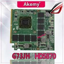 2019 AKemy <b>G73_MXM HD5870</b> 216 0769008 Video Card For ...