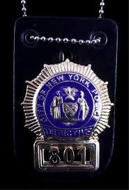 <b>New</b> York City Police Detective Badge - Apr 25, 2015 | North ...