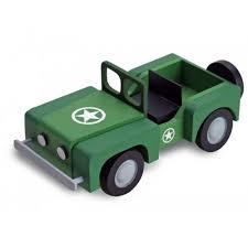 <b>Сборная деревянная модель</b> автомобиля <b>Artesania</b> Latina 4X4 CAR