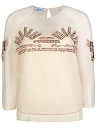 Коктейльная <b>блуза PRADA</b> 50b9b534 купить по выгодной цене ...