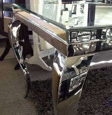 dining room table mirror top: square mirrored dining table glass full bevel mirror top with crome french legs dining room pinterest tops squares and tables