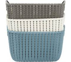 <b>Корзина CURVER Knit S</b>, 8л купить с доставкой по Москве.