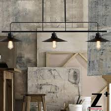 american style vintage pendant light three heads bulbs edison lamp rh restaurant kitchen lights iron free buy kitchen lighting