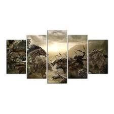 The <b>Lord</b> Of The Rings Fantasy Canvas Print <b>5 Panels</b> ...