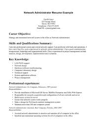 system administrator resume objective resume jobs system administrator resume objective