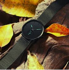 CIVO Fashion Watch <b>Men</b> Waterproof Slim Mesh Strap Minimalist ...