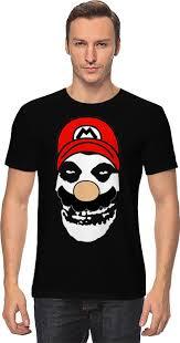 <b>Футболка классическая Printio</b> Mario x <b>Misfits</b> #785722