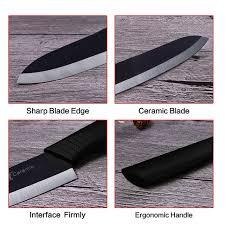 "XYj Абсолютно керамический <b>набор ножей 3</b> ""4"" 5 ""6"" Черное ..."