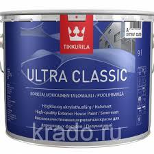 <b>ULTRA CLASSIC</b> (УЛЬТРА КЛАССИК <b>ТИККУРИЛА</b>) <b>краска</b> для ...