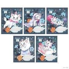 "<b>Тетрадь</b> в линейку ""<b>Marie Cat</b>"" (12 листов) : купить в Минске в ..."
