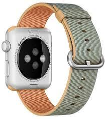 Купить <b>ремешок Apple Nylon</b> Band (MMA02ZM/A) для Apple Watch ...