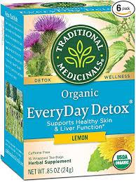 Traditional Medicinals <b>Organic EveryDay Detox</b> Lemon Detox <b>Tea</b>