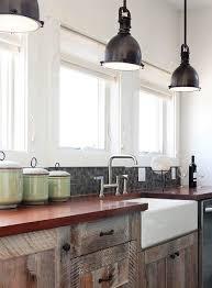 industrial pendant lighting kitchen contemporary with farm sink glass mosaics black pendant lighting