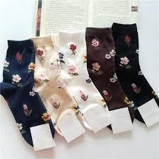 2018 <b>New Arrival</b> Women Cotton Harajuku Flower Korean Fashion ...