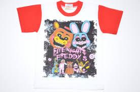<b>Футболка мишка</b> Фредди красный рукав
