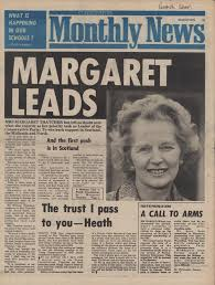 「1975, margaret thacher elected party head」の画像検索結果